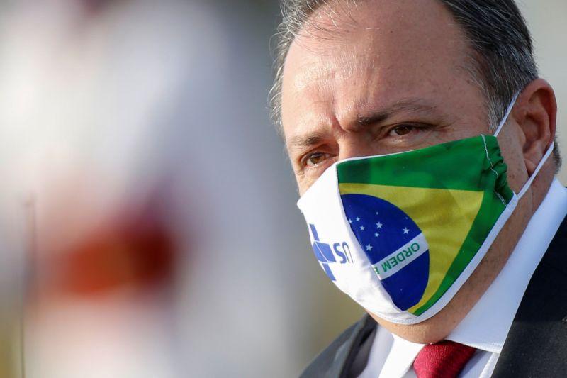 Ministro da Saúde, Eduardo Pazuello, testa positivo para Covid-19