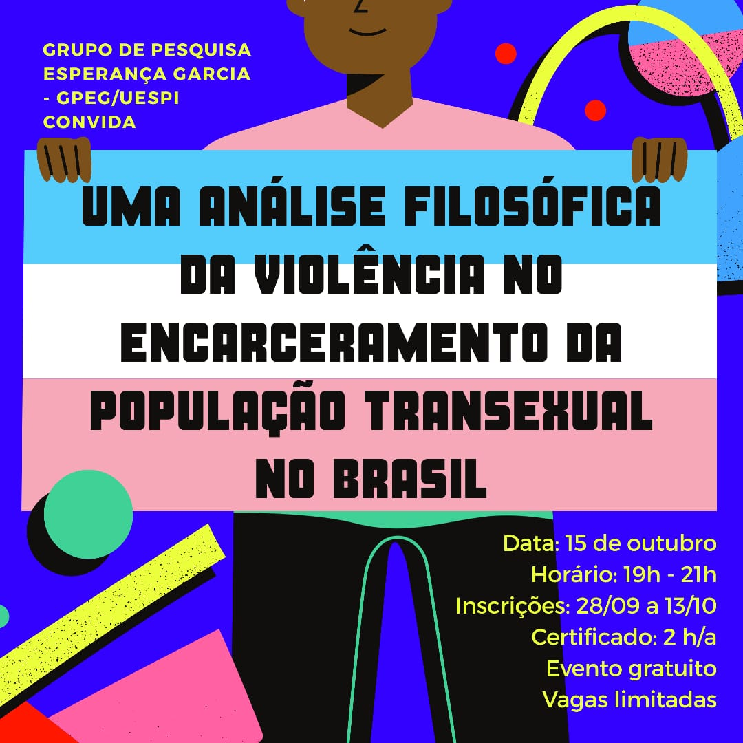 Violência contra transexuais é tema de curso online pela UESPI
