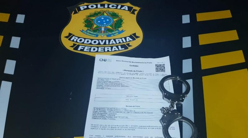 Acusado de estupro de vulnerável é preso pela Polícia Rodoviária em Picos