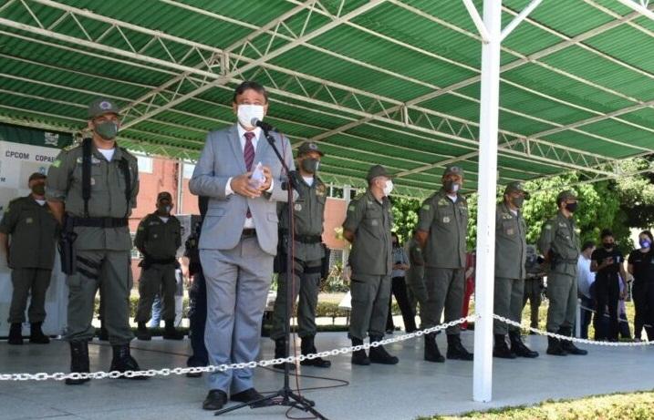 Wellington Dias anuncia concurso para Polícia Militar com edital para outubro